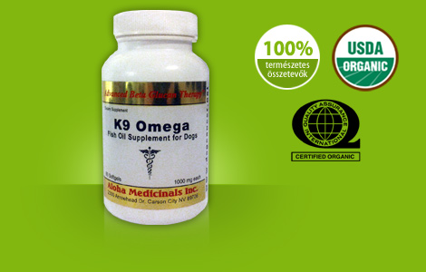 K9 omega fish oil supplements with omega 3 fatty acids for Fish oil dosage for dogs